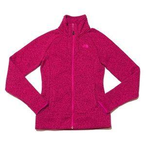 The North Face Zip-Up Jacket Fuchsia